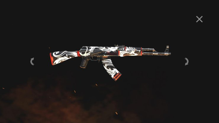 Deberías probar Flaming Dragon AK-47