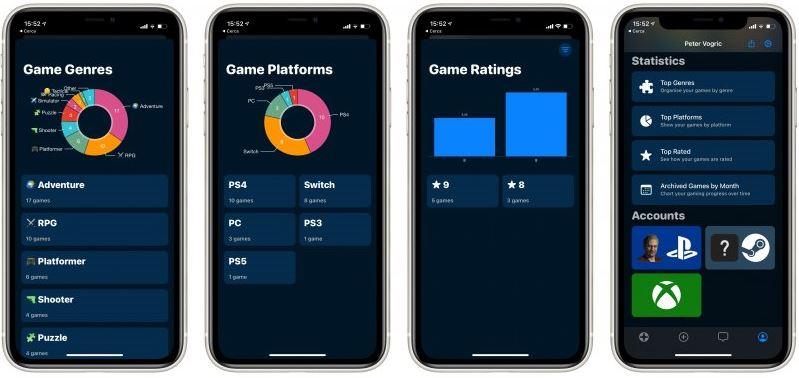 GameTrack te ayuda a realizar un seguimiento de tus videojuegos favoritos